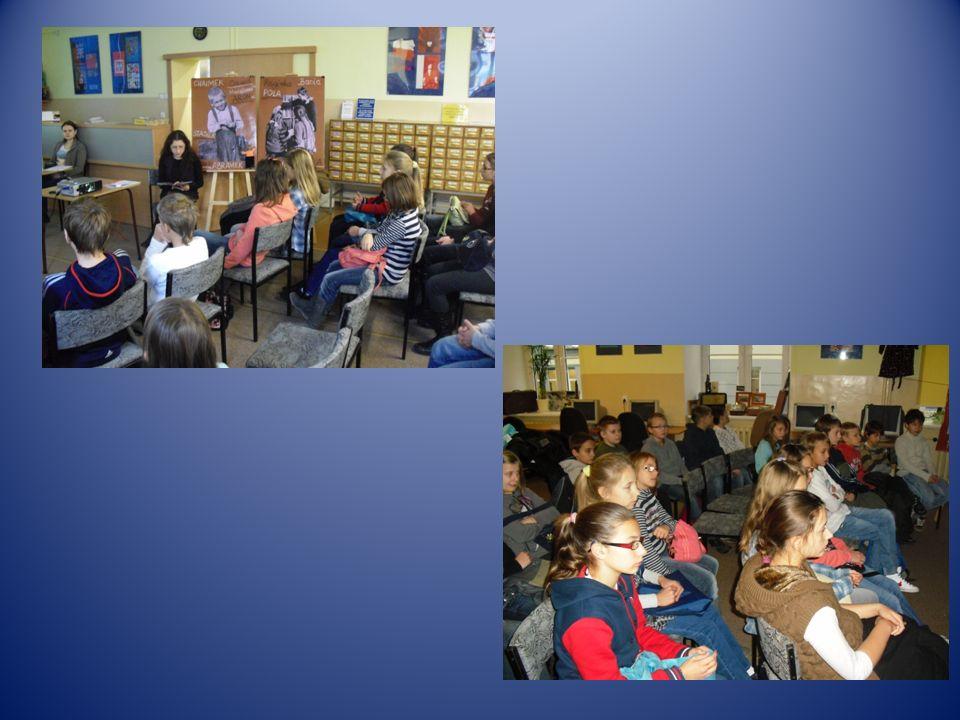 Uczniowie klas 0 – III byli na spotkaniu zorganizowanym przez Bibliotekę Szkolną z Panią Niną Opic, znaną pisarką z Rzeszowa, psychoterapeutką i wykładowcą.