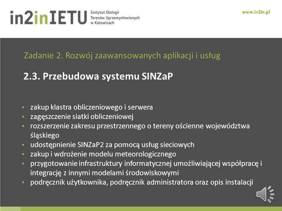 Zadanie 2. Rozwój zaawansowanych aplikacji i usług 2.2.