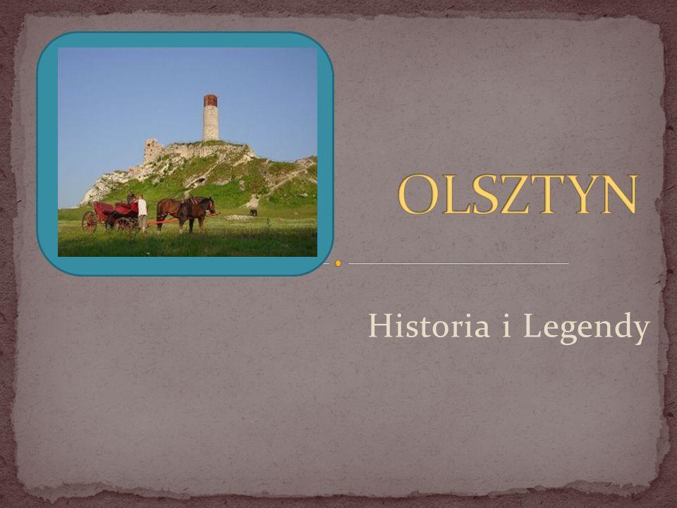W Olsztynie na wzgórzu znajdują się ruiny zamku z XIV wieku.