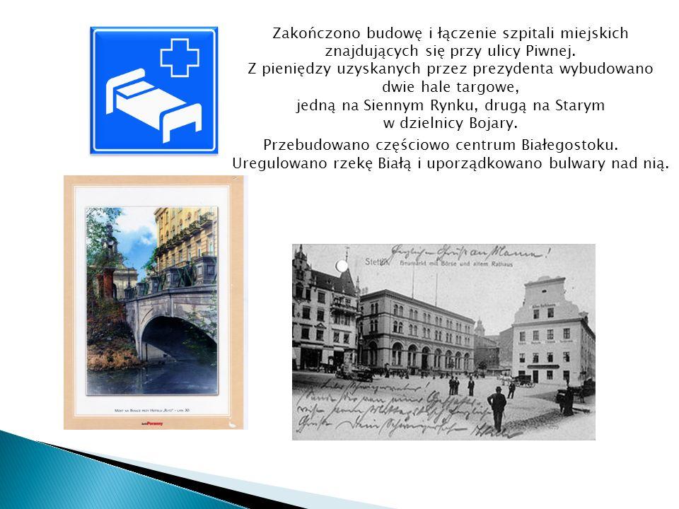 Zakończono budowę i łączenie szpitali miejskich znajdujących się przy ulicy Piwnej.