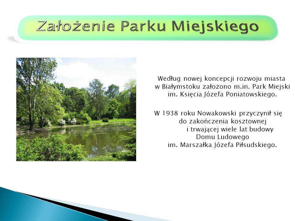 Według nowej koncepcji rozwoju miasta w Białymstoku założono m.in.