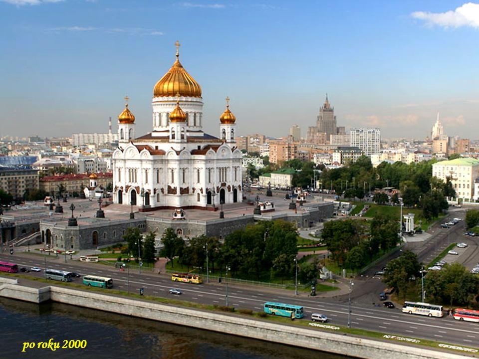 Da - Ma Po ogłoszeniu drugiego konkursu, którego zwycięzcą został Konstanty Ton, który zaprojektował świątynię w rosyjsko-bizantyjskim stylu, Car wska