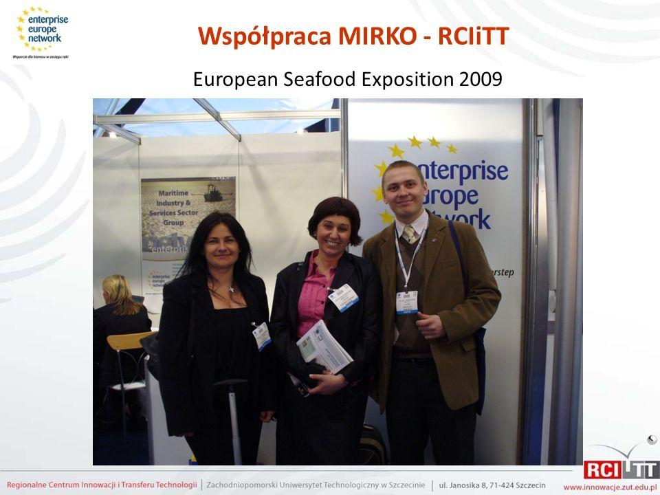 Współpraca MIRKO - RCIiTT European Seafood Exposition 2009