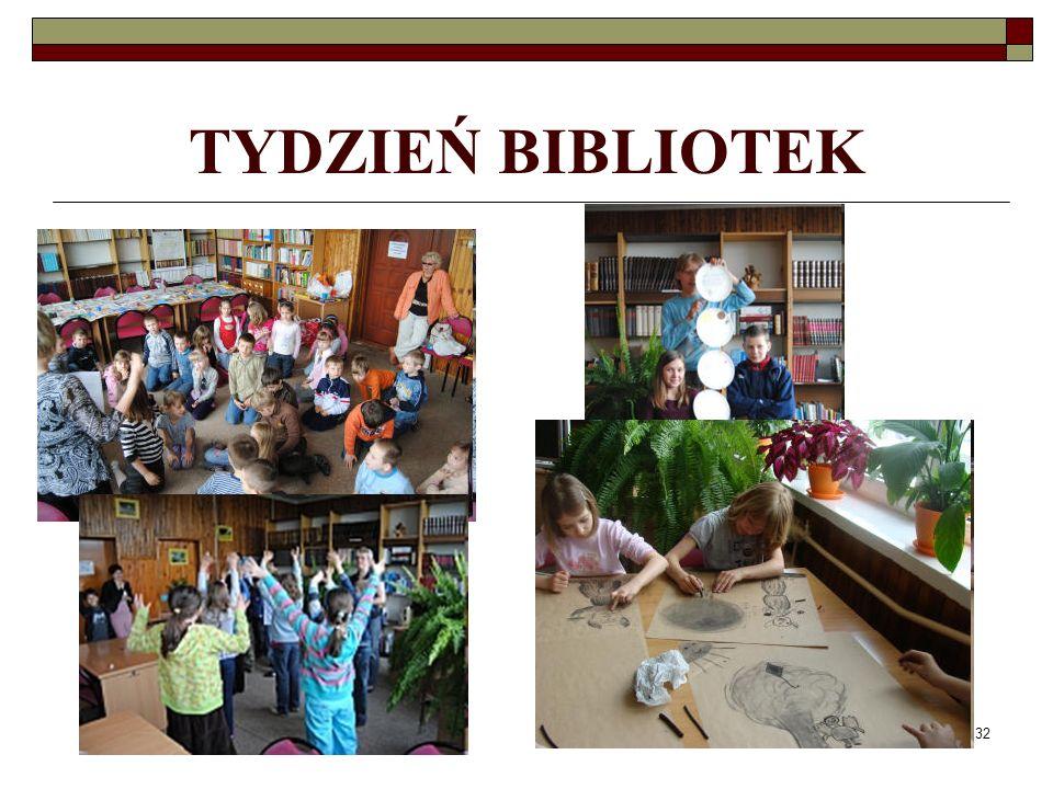 32 TYDZIEŃ BIBLIOTEK