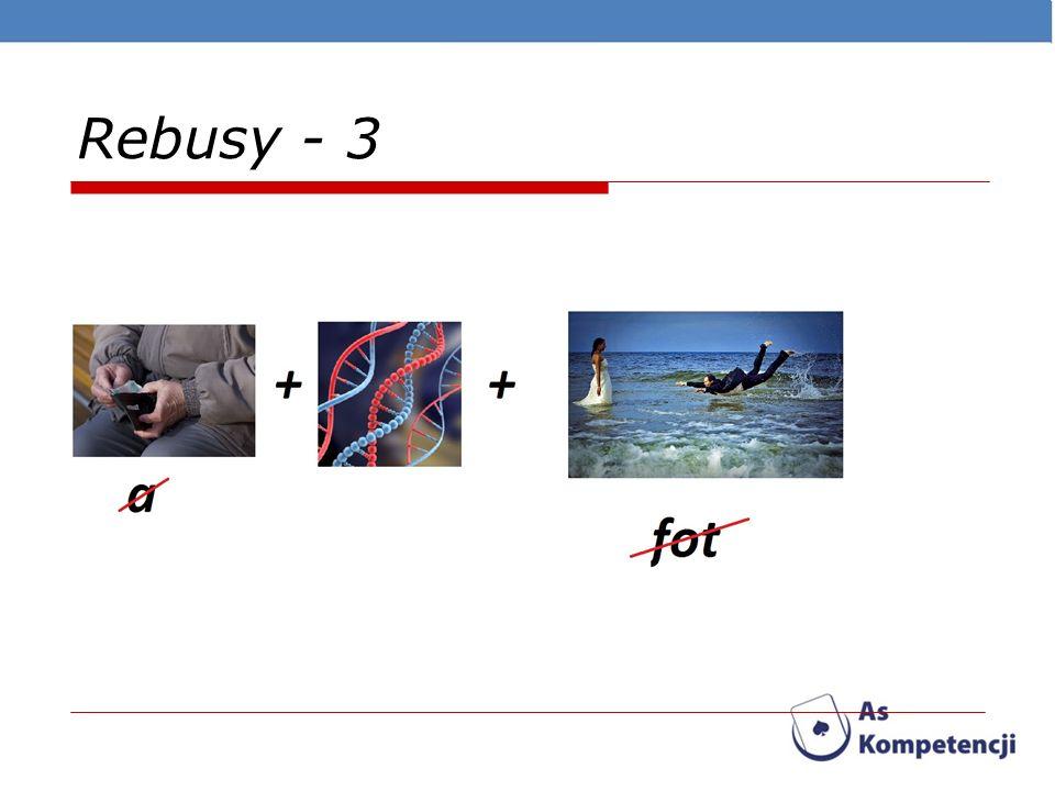 Rebusy - 3