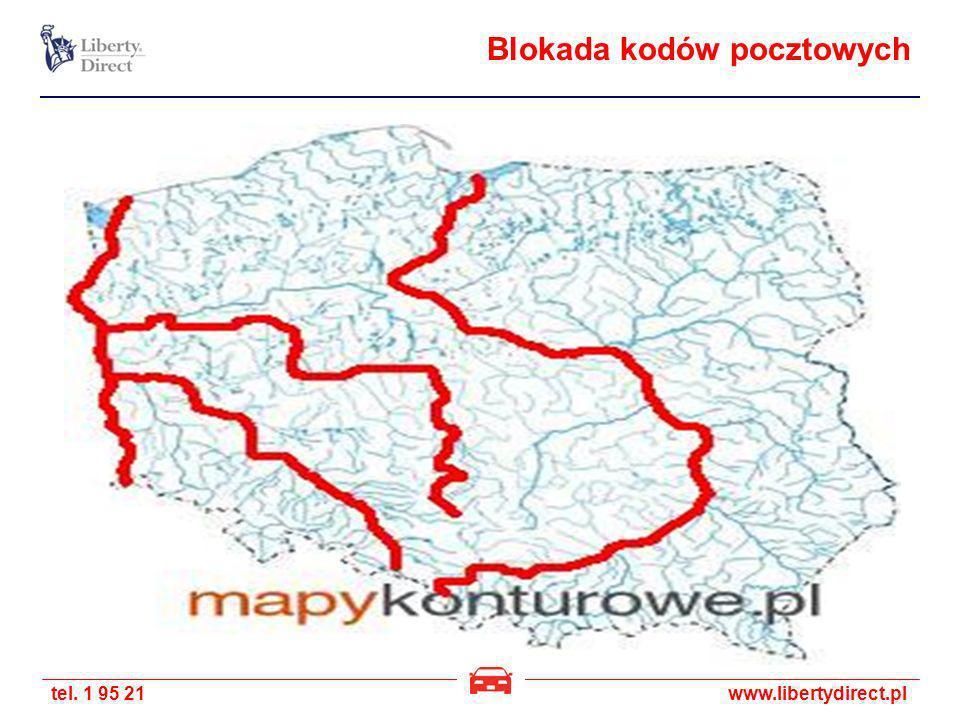 tel. 1 95 21www.libertydirect.pl Blokada kodów pocztowych