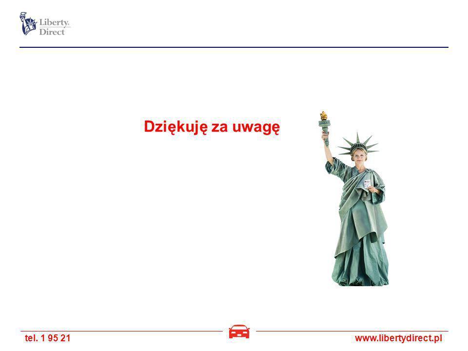 tel. 1 95 21www.libertydirect.pl Dziękuję za uwagę