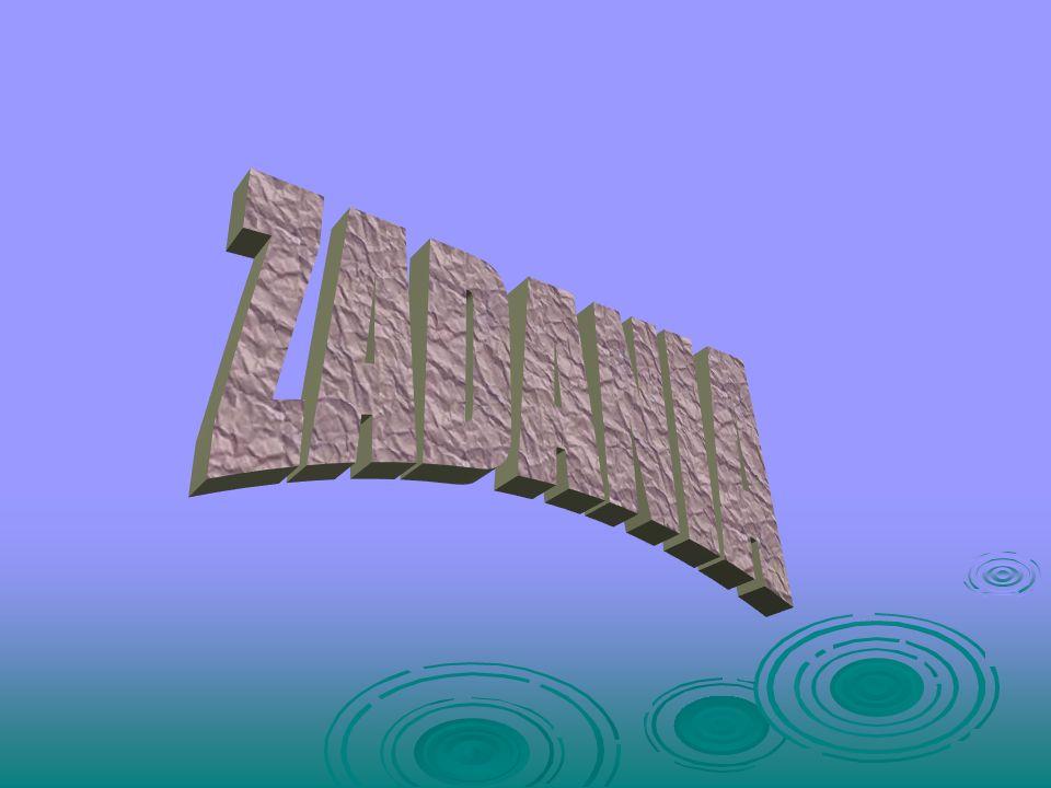 Okres wahadła zależy od: długości jego nici (d); długości jego nici (d); przyspieszenia grawitacyjnego (g) przyspieszenia grawitacyjnego (g) OKRES WAH