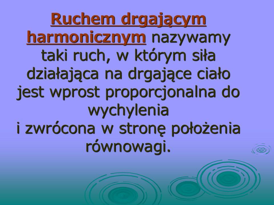 RUCH HARMONICZNY Opracowała: mgr Magdalena Gasińska