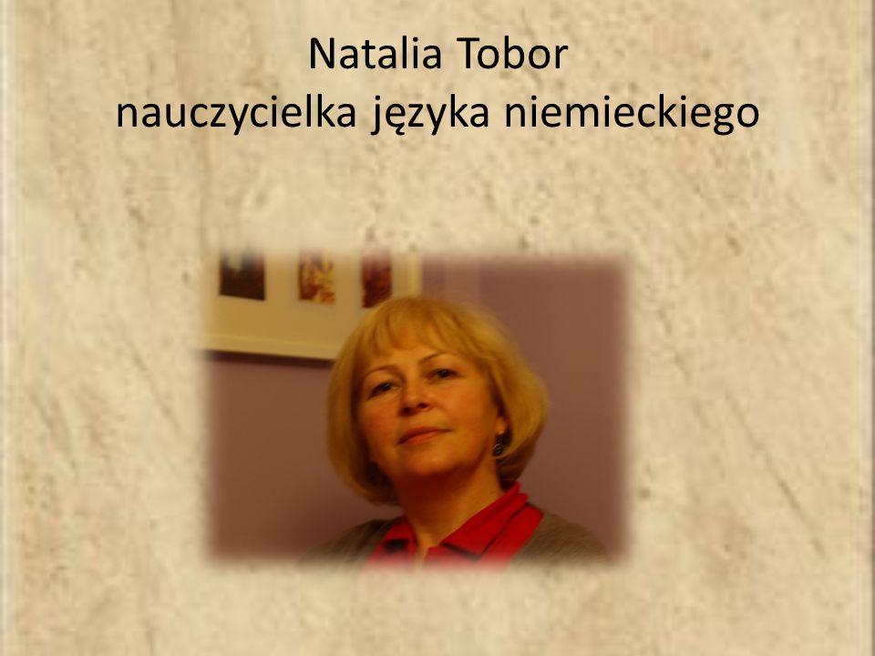 Natalia Tobor nauczycielka języka niemieckiego