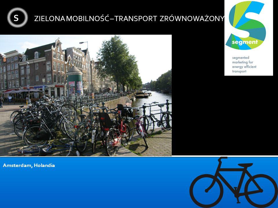 S ZIELONA MOBILNOŚĆ – TRANSPORT ZRÓWNOWAŻONY Amsterdam, Holandia