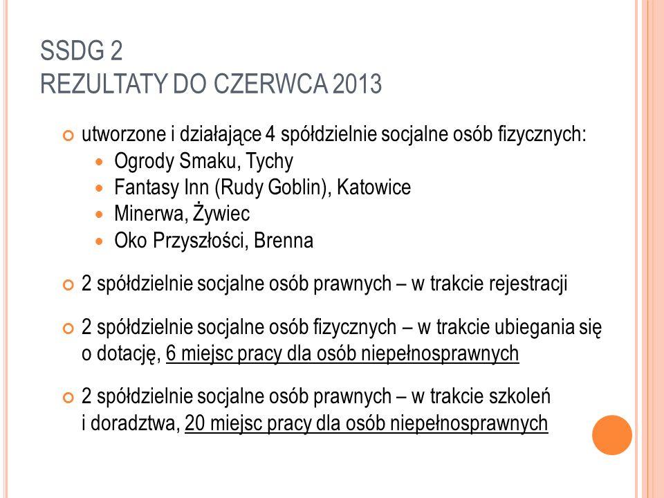 SSDG 2 W roku 2013 projekt SSDG 2 rozszerzono projekt, w rezultacie czego SWR otrzyma dodatkowe środki z Urzędu Marszałkowskiego, m.in.