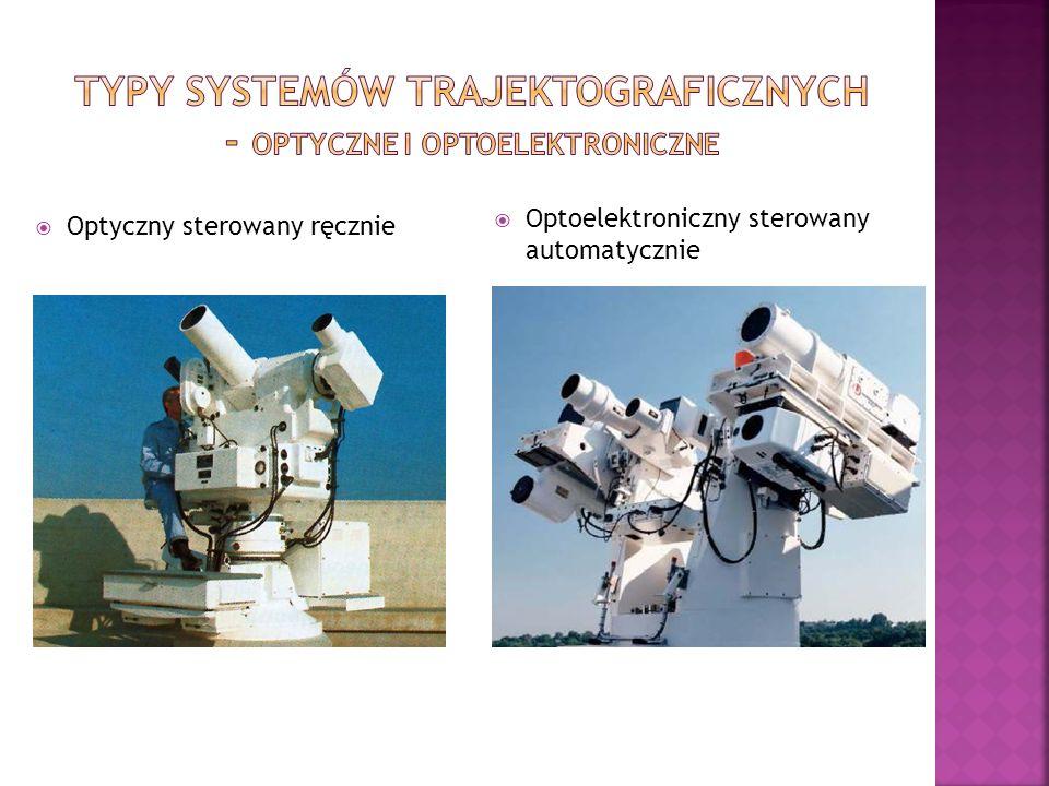 Zasadnicze części składowe systemu trajektograficznego są następujące: stacje śledzące i rejestrujące położenie obiektu; stacja centralna synchronizująca i sterująca pracą stacji śledzącej; stacja przetwarzania danych.