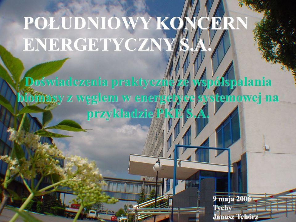 POŁUDNIOWY KONCERN ENERGETYCZNY S.A.powstał 24 maja 2000r.