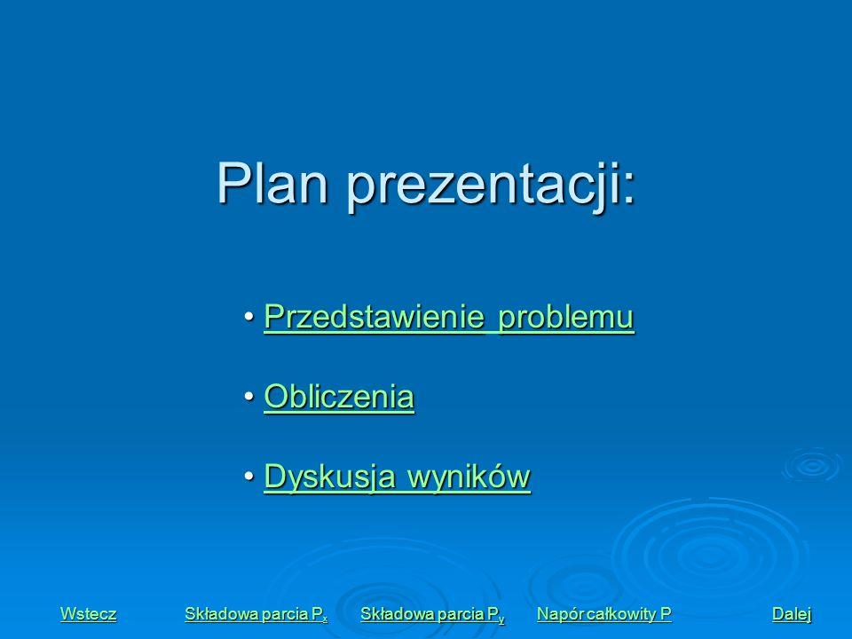 Plan prezentacji: Przedstawienieproblemu Przedstawienie problemuPrzedstawienieproblemuPrzedstawienie problemu Obliczenia ObliczeniaObliczenia Dyskusja