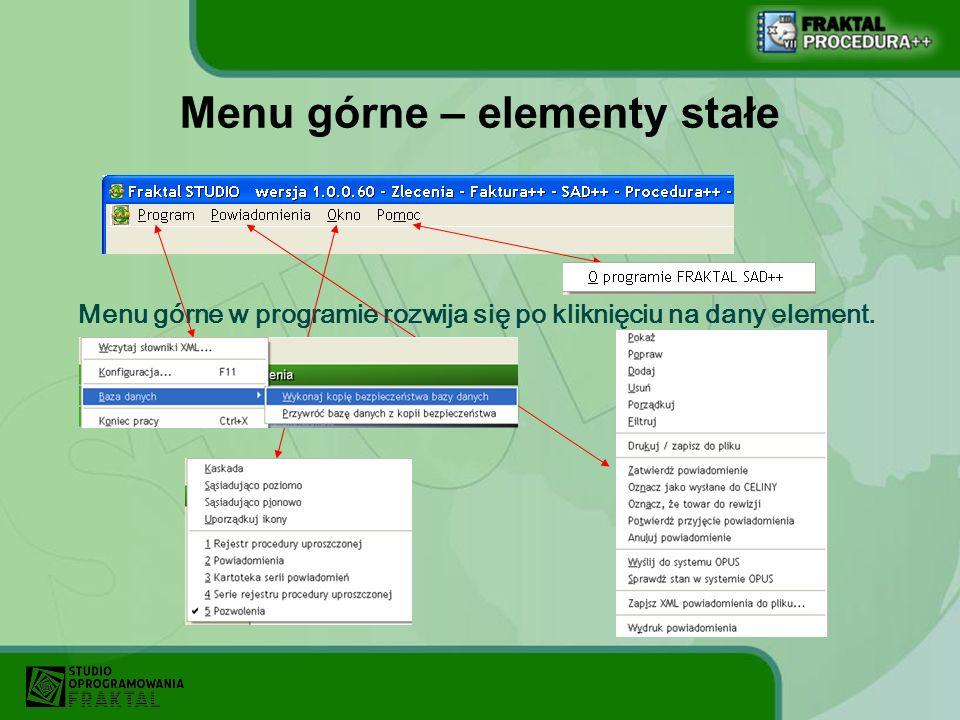 Tworzenie pozycji rejestru W momencie generowania powiadomienia jednocześnie tworzone są pozycje rejestru procedury uproszczonej.
