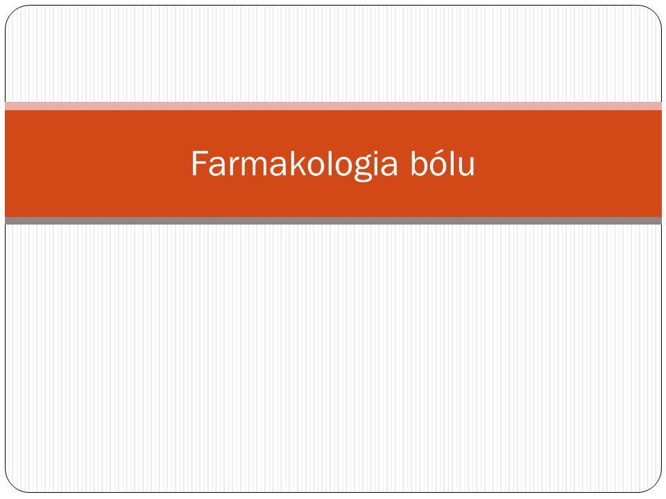 Farmakologia bólu