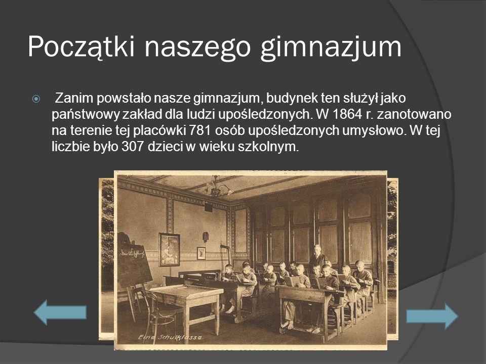Kalendarium naszego gimnazjum.