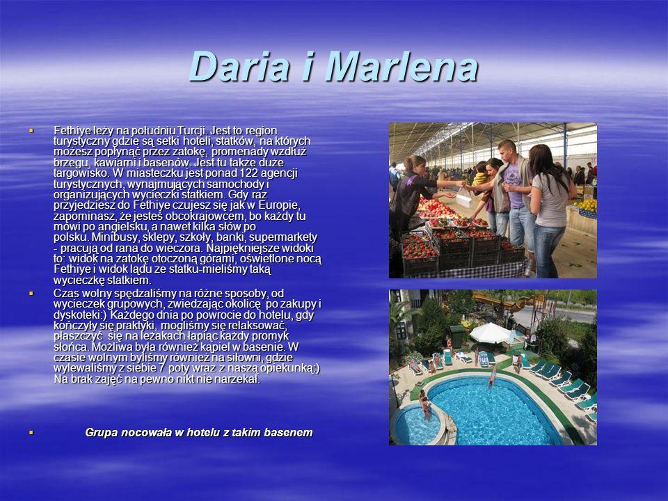 Daria i Marlena Fethiye leży na południu Turcji.