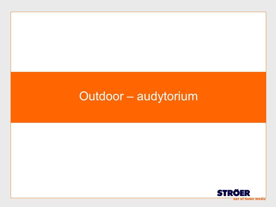 Outdoor – audytorium