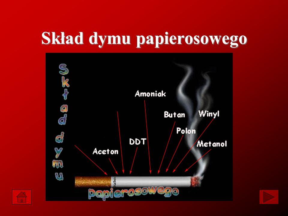 Blisko cztery tysiące substancji, z tego 40 rakotwórczych, atakuje nasz organizm, gdy zaciągamy się dymem tytoniowym.