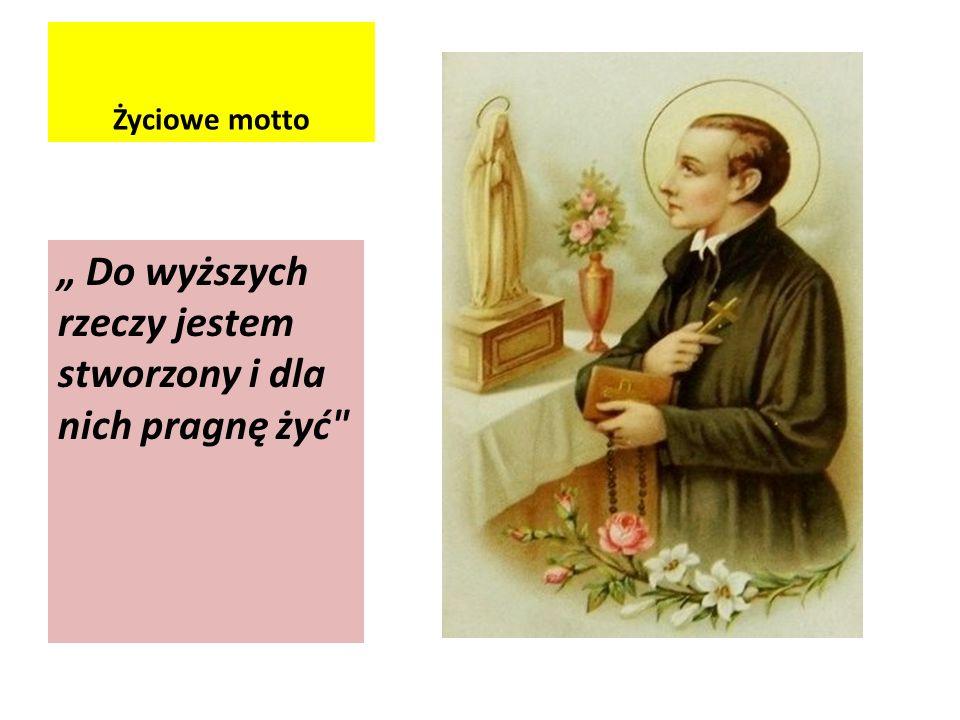 Dzieciństwo Św.Stanisław Kostka, urodził się 28 grudnia 1550 roku w Rostkowie na Mazowszu.
