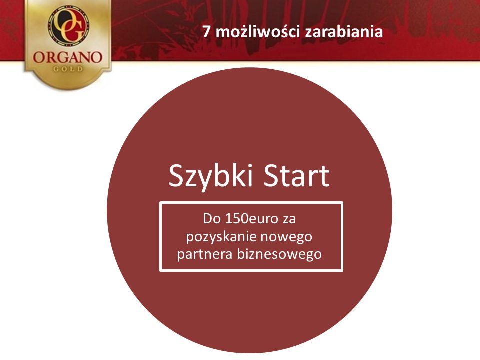Szybki Start Do 150euro za pozyskanie nowego partnera biznesowego 7 możliwości zarabiania