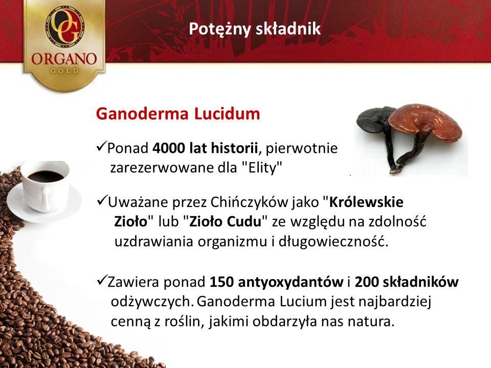 Potężny składnik Ganoderma Lucidum Ponad 4000 lat historii, pierwotnie zarezerwowane dla