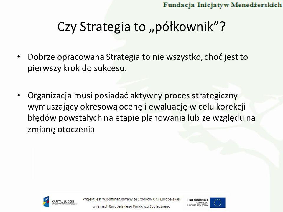 Czy Strategia to półkownik.