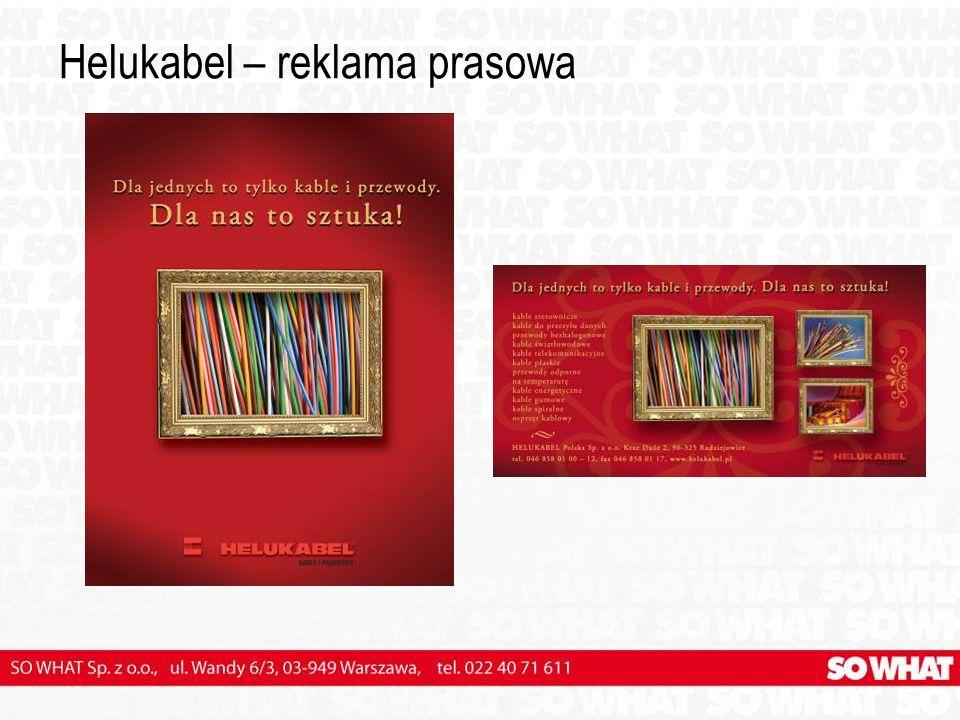Helukabel – reklama prasowa