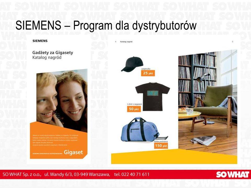 SIEMENS – Program dla dystrybutorów
