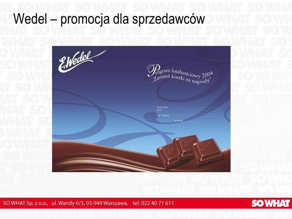 Wedel – promocja dla sprzedawców