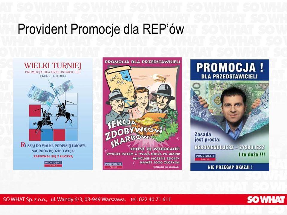 Provident Promocje dla REPów