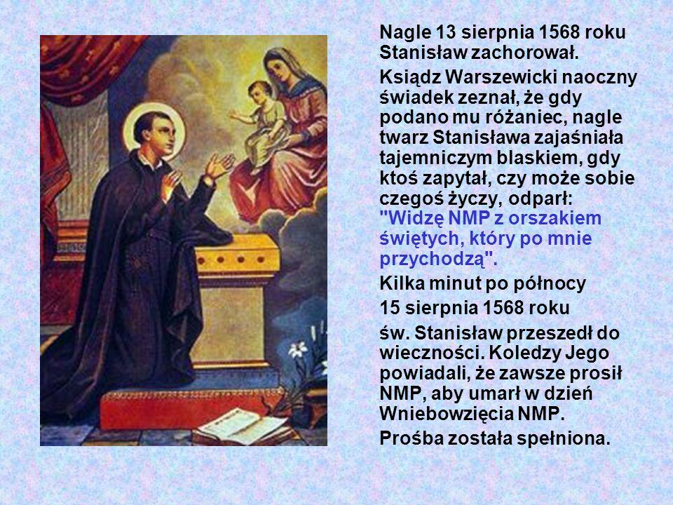 Wieść o pięknej śmierci polskiego młodzieniaszka lotem błyskawicy rozeszła się po Rzymie.