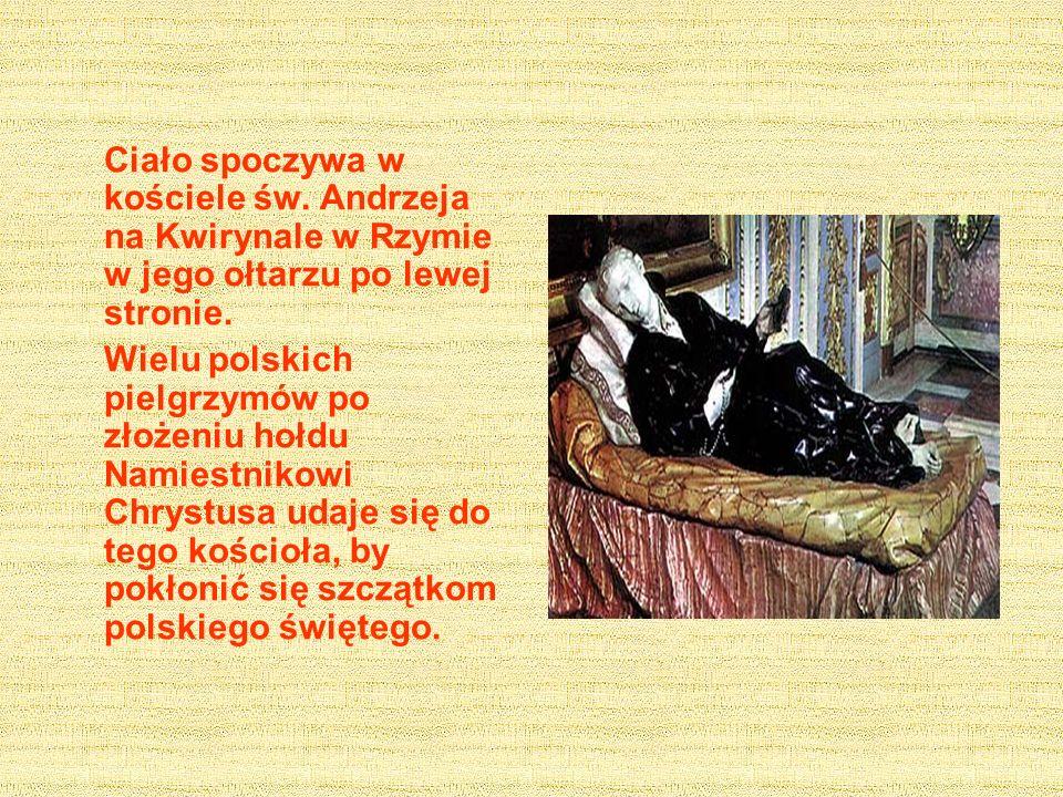 Św.Stanisławowi przypisuje naród polski zwycięstwo odniesione nad Turkami pod Chocimiem w 1621 r.