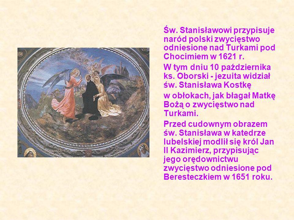 Do grobu i celi św.Stanisława pielgrzymował 13.11.1962 r.