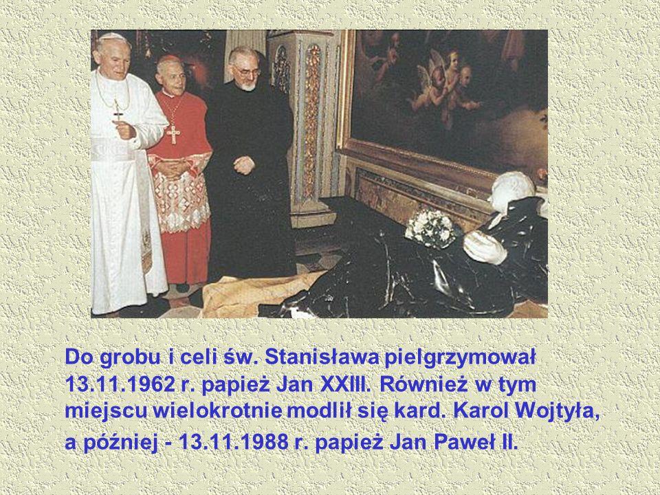 W Polsce jest ponad sześćdziesiąt kościołów których patronem jest Św.