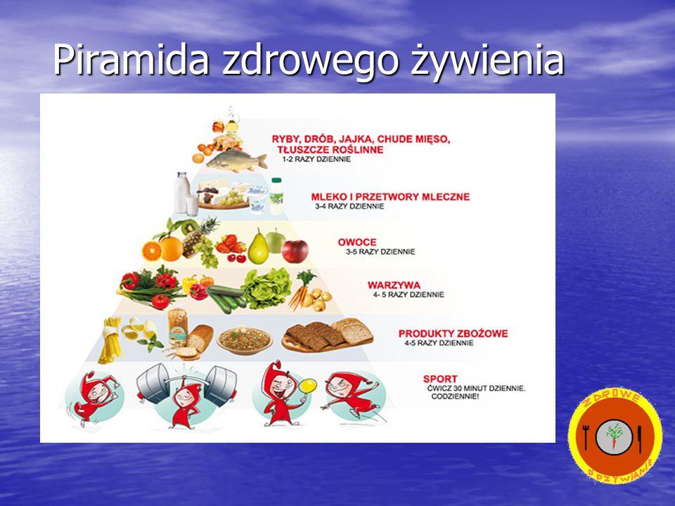 Należy spożywać produkty z różnych grup żywności (dbać o urozmaicenie posiłków).