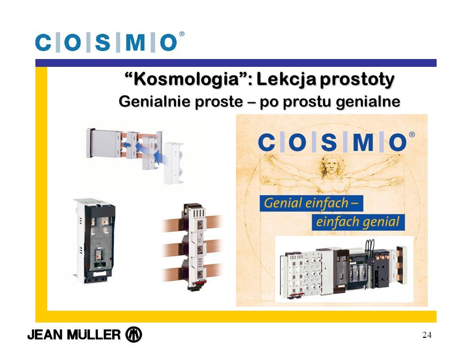 24 Kosmologia: Lekcja prostotyKosmologia: Lekcja prostoty Genialnie proste – po prostu genialne