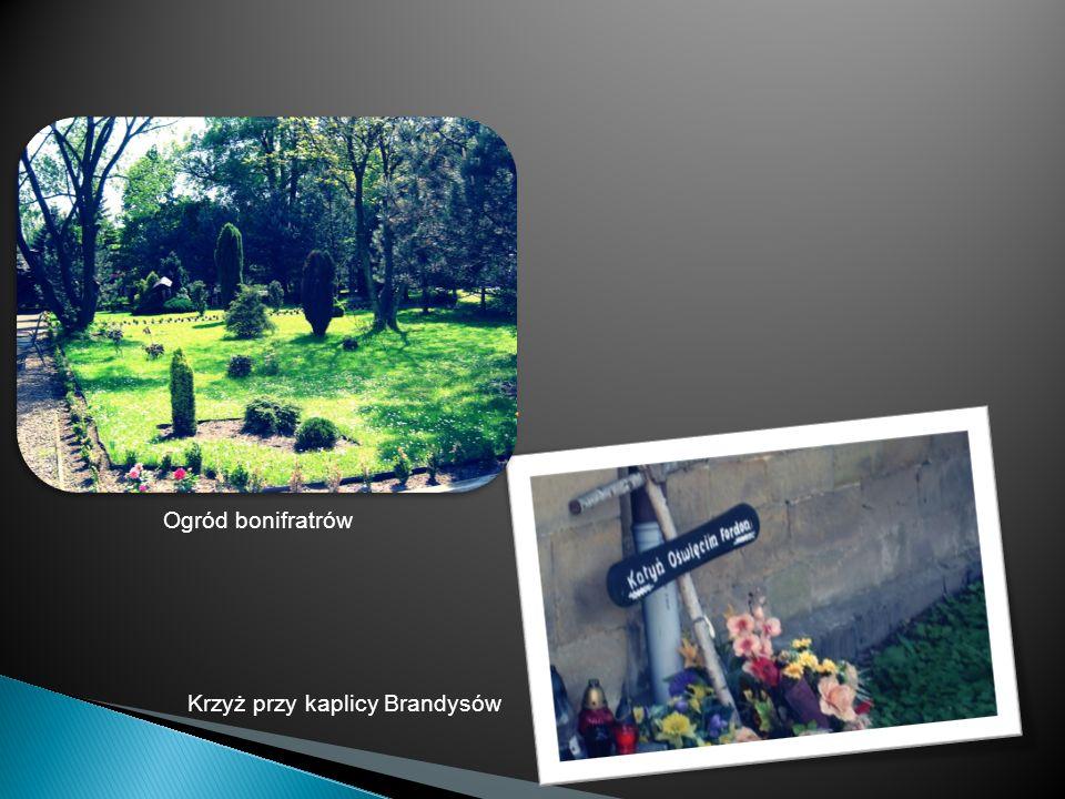 Ogród bonifratrów Krzyż przy kaplicy Brandysów