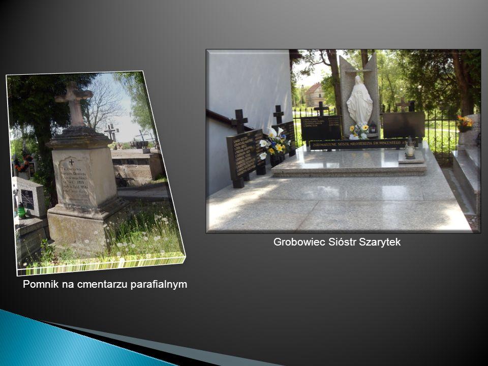 Pomnik na cmentarzu parafialnym Grobowiec Sióstr Szarytek