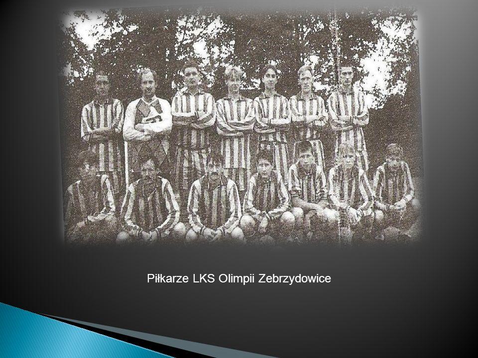 Piłkarze LKS Olimpii Zebrzydowice
