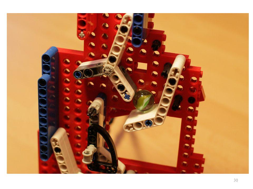 Modele fizyczne - mechaniczne 30 Studencki transformer: liczba na liczbę binarną