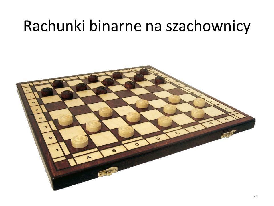 Rachunki binarne na szachownicy 34