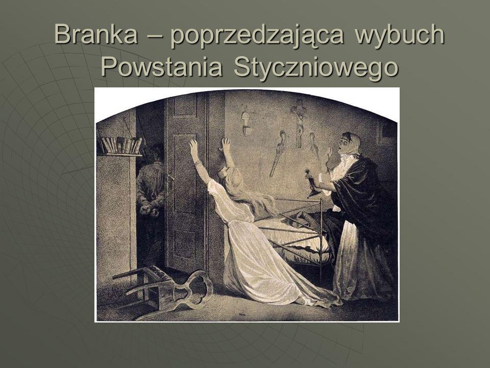 Manifestacje poprzedzające Powstanie Styczniowe: 11 czerwca 1860r.- demonstracja patriotyczna na pogrzebie wdowy po gen.