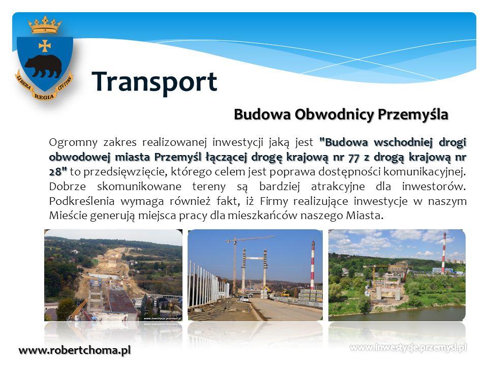 Transport www.robertchoma.pl Budowa Obwodnicy Przemyśla