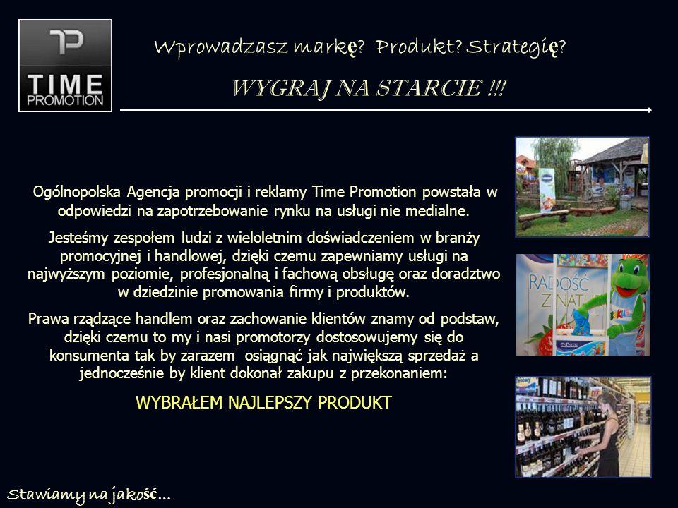 Wprowadzasz mark ę .Produkt. Strategi ę . WYGRAJ NA STARCIE !!.