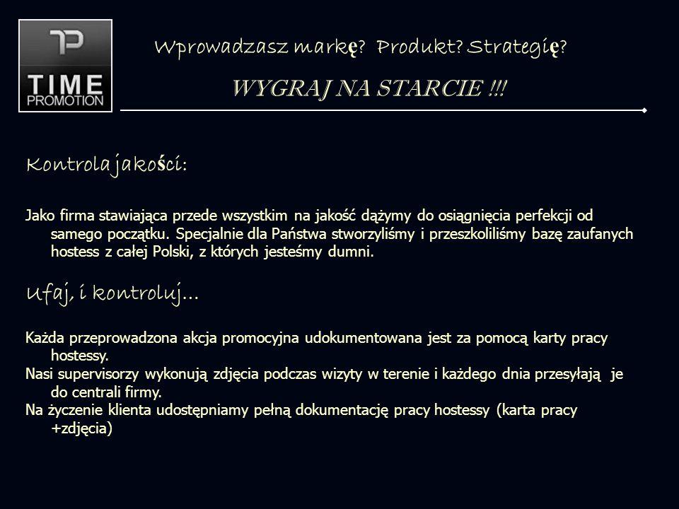 Wprowadzasz mark ę . Produkt. Strategi ę . WYGRAJ NA STARCIE !!.