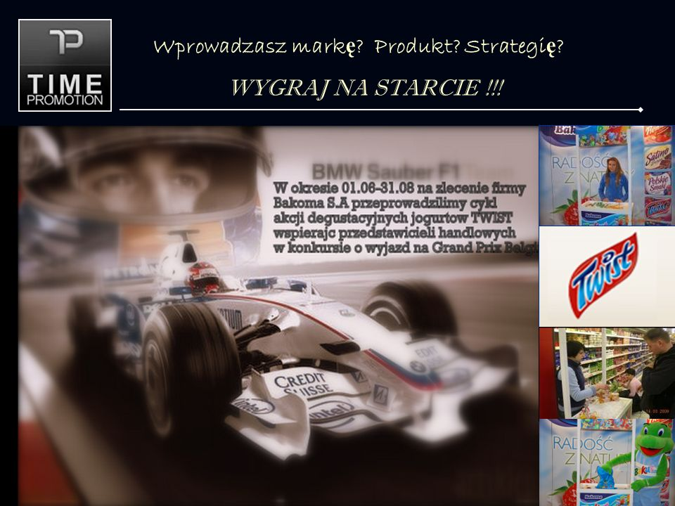 Wprowadzasz mark ę Produkt Strategi ę WYGRAJ NA STARCIE !!!