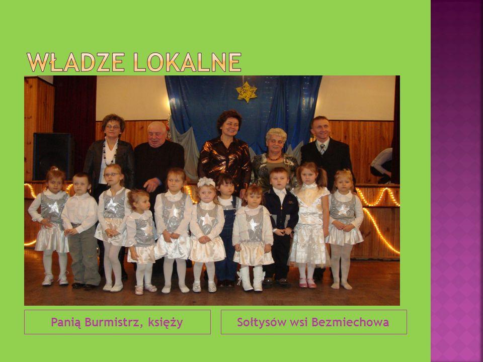 Panią Burmistrz, księżySołtysów wsi Bezmiechowa